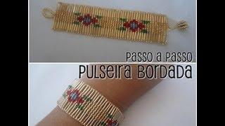 NM Bijoux - Pulseira Bordada no tear