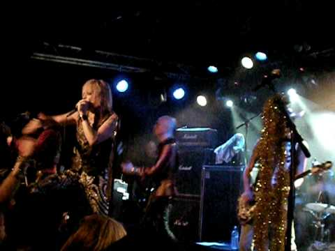 Hanoi Rocks last gig in Sweden Highschool