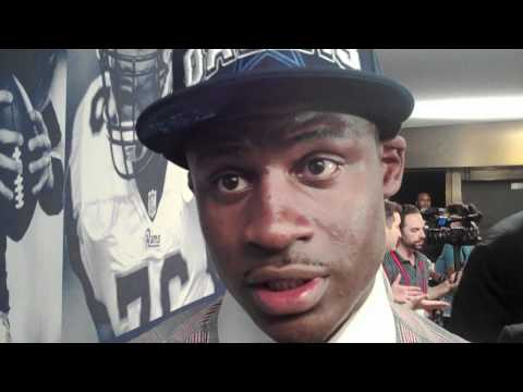Morris Claiborne Interview Dallas Cowboys LSU CB And Deion Sanders NFL Draft 2012