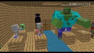 Школа Монстров (Minecraft анимация) - Урок Алхимии