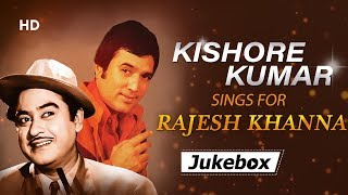 Kishore Kumar Sings For Rajesh Khanna | Kishore Da's Best Songs | Filmi Gaane
