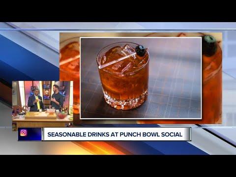 Fall Drinks At Punch Bowl Social