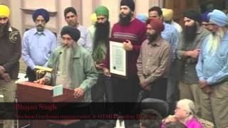 Stockton, CA, USA Passes 1984 Sikh Genocide Recognition