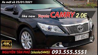 Toyota CAMRY 2.0E đúng 2013, siêu mới