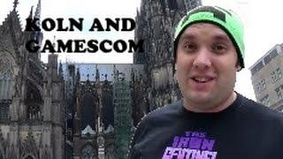 Koln and Gamescom 2014 adventure Day 1: Around Koln!!