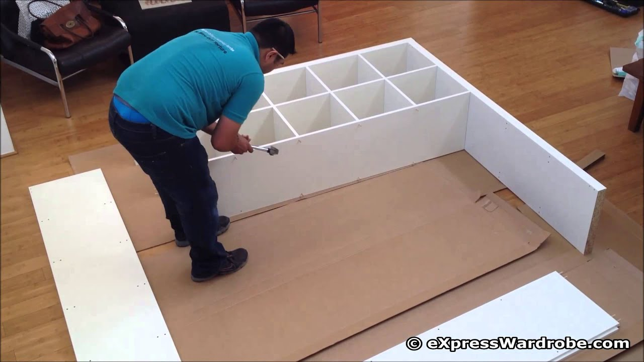 Crazy Flat Pack Furniture Assembly Youtube