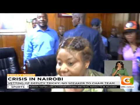 Sonko fails to name deputy governor as promised