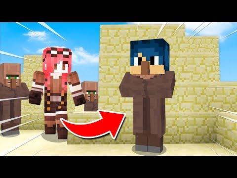 Minecraft ITA - NASCONDINO NEL VILLAGGIO DEI VILLAGER!!