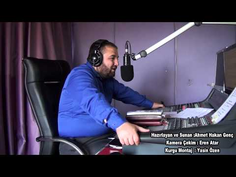 (Dolunay Fm Radyo Programı Kamera Arkası) Ahmet Hakan Genç 04 09 2014