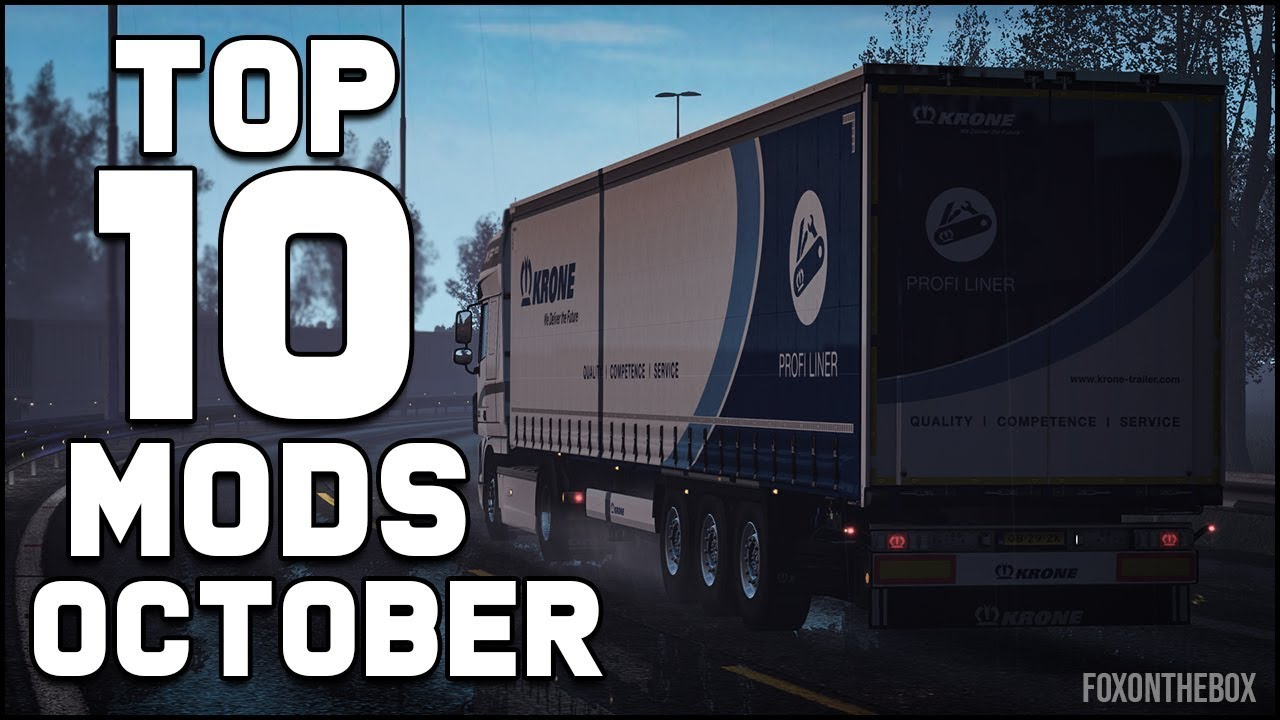 08d7c9fd257 Steam Community :: Video :: Top 10 ETS2 Mods - October 2018 | Euro Truck  Simulator 2 (ETS2 1.32)