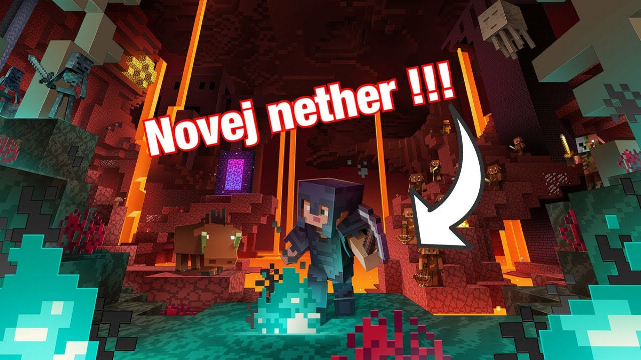 Minecraft #15 nether update!!!!!!