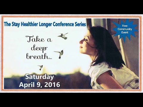 UTHSC conference take a deep breath
