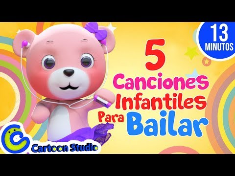 Canciones infantiles para bailar | Vídeos infantiles para niños | Música para niños
