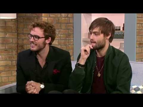 Sam Claflin & Douglas Booth Talk About the Riot Club  This Morning