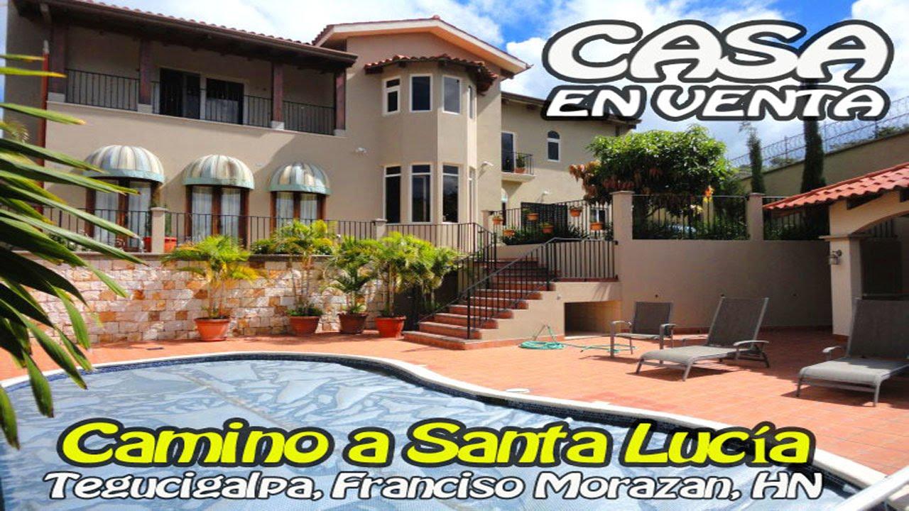Espectacular casa con piscina camino de tegucigalpa a for Piscina santa lucia