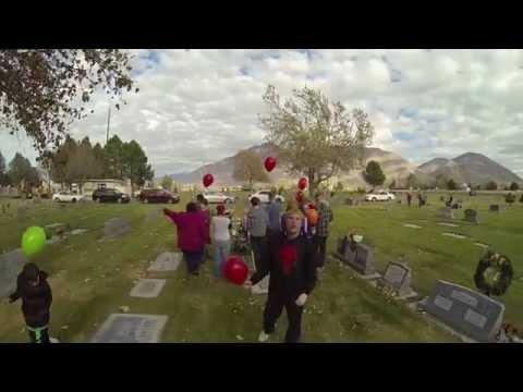 Balloons For Grandma 2014 Evergreen Cemetery Springville Utah