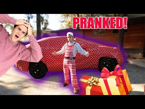 I WRAPPED EVERYTHING HE OWNS!! (PRANK)