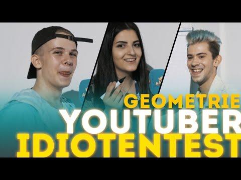 """YouTube-Stars"" IDIOTENTEST Thema Geometrie"