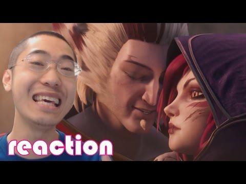 Xayah and Rakan: Wild Magic reaction