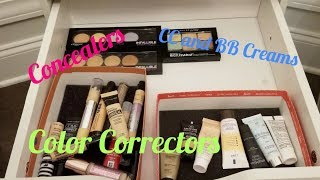 Makeup Collection 2018: Concealer, BB Creams, CC Creams, and Color Corrector Collection