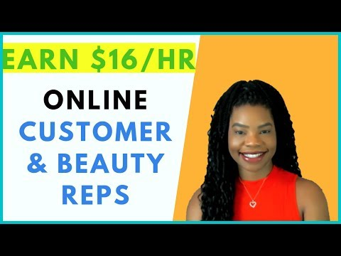 Now Hiring Online Customer & Beauty Ambassadors | Online, Remote Work From Home Jobs February 2019