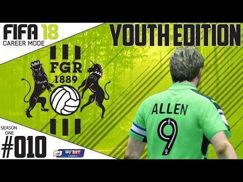 Fifa 18 Career Mode  - Youth Edition - Forest Green Rovers - EP 10