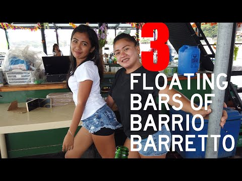 Floating Bars of Barrio Barretto, Olongapo, Subic Bay, Philippines