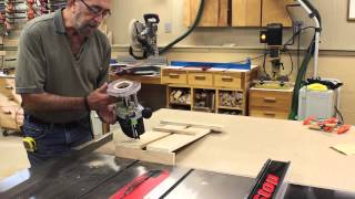The Down To Earth Woodworker - Sawstop Outfeed Table Part 6b