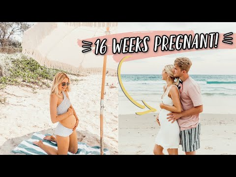 16 WEEKS PREGNANT IN BYRON BAY, AUSTRALIA! thumbnail