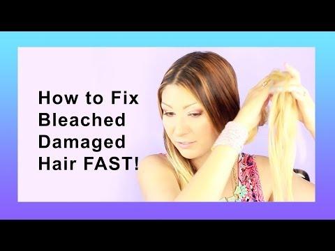 How To Repair Ed Damaged Hair