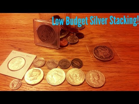 From Loose Change To Junk Silver! How To Stack Silver On A Shoe String Budget!