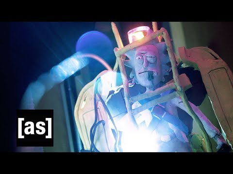 Rick and Morty The Non-Canonical Adventures: Aliens   Adult Swim