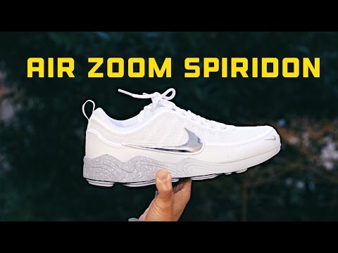 Unboxing: NIKE AIR ZOOM SPIRIDON WOLF GREY / REVIEW+ON FEET