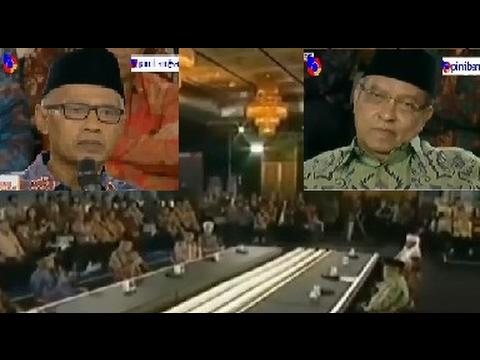Pidato Ketum Muhammadiyah Beda Dengan Pidato Ketum NU Said Agil Siraj