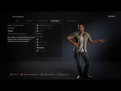 uncharted 4 dances to mambo n.5