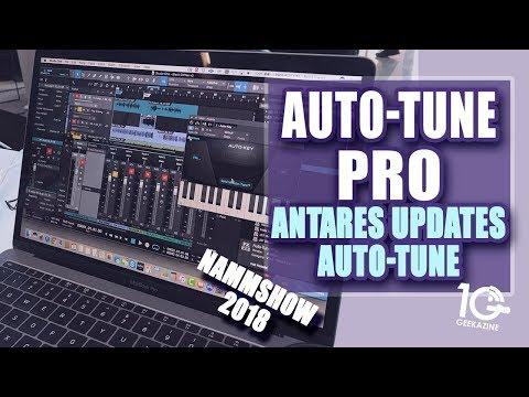 Auto-Tune Pro: Antares Updates Auto Tune with Key Detection