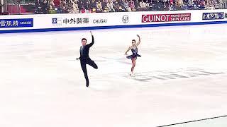 Дарья Павлюченко Денис Ходыкин SP 05 12 2019 ISU Grand Prix of Figure Skating Final in Turin
