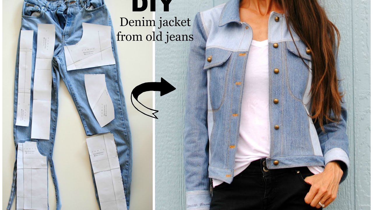 How to Make Your Own Jean Jacket Out of Old Jeans