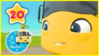 Buster Raps from 1 to 10 |  ABCs and 123s | GoBuster Official | Nursery Rhymes