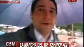 C5N - MARCHA DEL SILENCIO: DESDE EL CONGRESO CON 4G