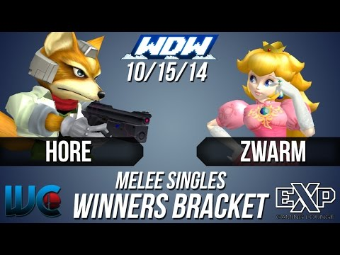 WDW 10/15/14 - Zwarm (Peach) vs Hore (Fox)...