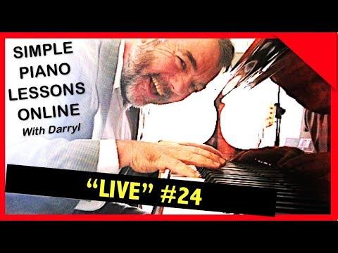 """Fast Track Piano Lessons """"Live"""" - #024 Jun 1, 2017"""