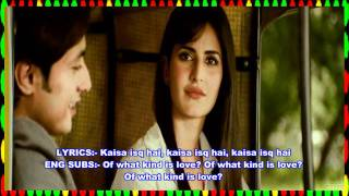 ISQ RISK - LYRICS & ENG SUBS - MERE BROTHER KI DULHAN - FULL SONG - *HQ* & *HD* ( BLUE RAY )