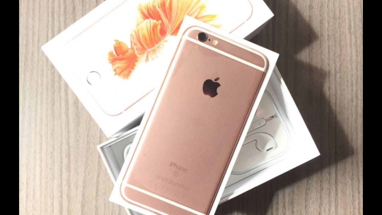iPhone 6S Rose Gold Unboxing (In Abu Dhabi & Dubai)