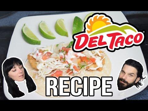 Del Taco - Beer Battered Fish Taco COPYCAT RECIPE