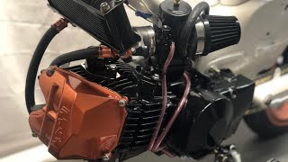 Honda cub 2019 Daytona 190cc episode Build 4
