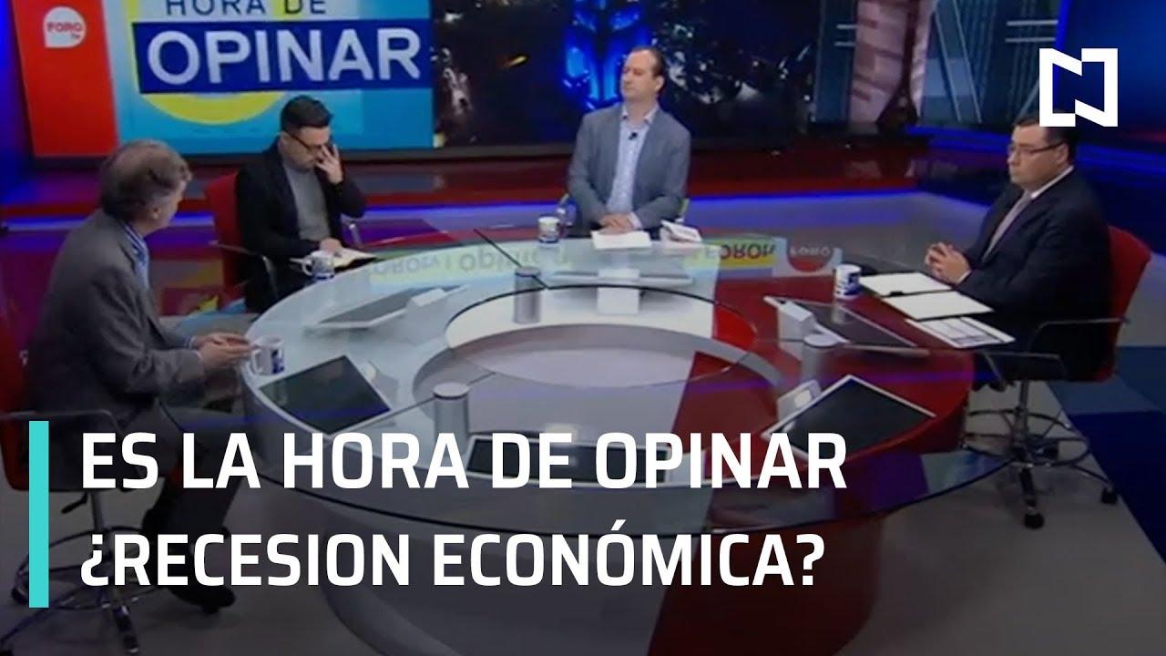 Es La Hora De Opinar: ¿Recesión económica? - Programa Completo 1 de Agosto 2019