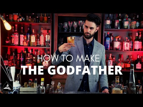 HOW TO MAKE THE GODFATHER COCKTAIL - Recipes 101