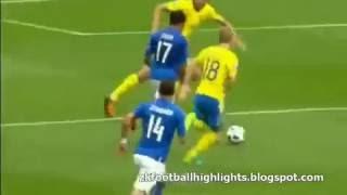 Résumé Italie - Suède (1-0) Euro 2016