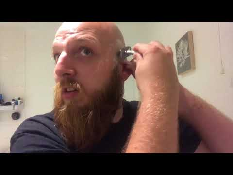 3 stage shaving, bald and bearded